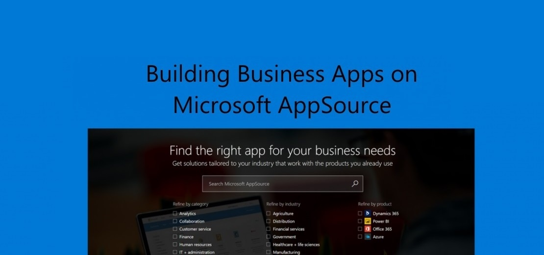 developing business apps on microsoft appsource